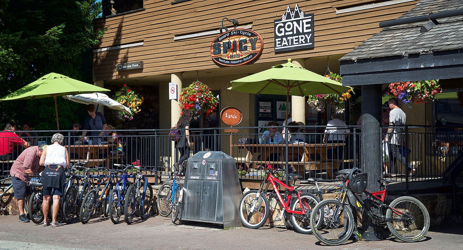 Gone eatery in Whistler village