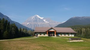 A view of Mt. Robson in Valemount BC