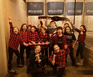 kids axe throwing in Whistler
