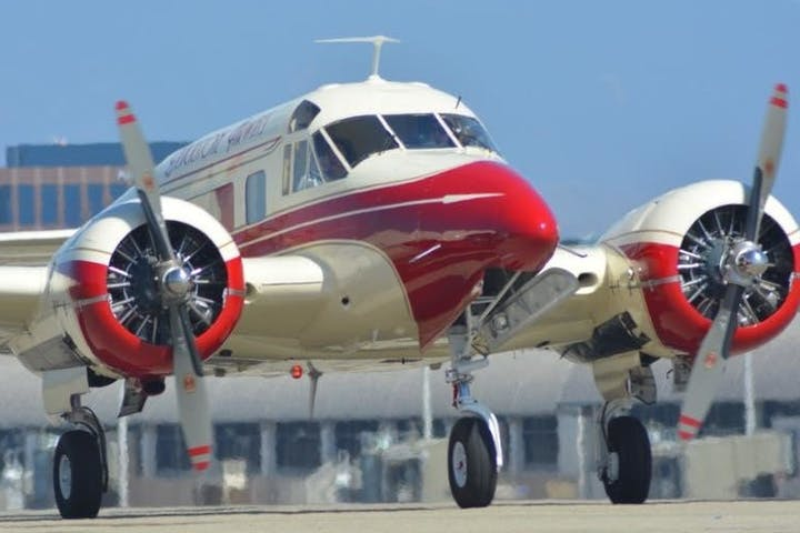 Custom Charter Flights in Long Beach