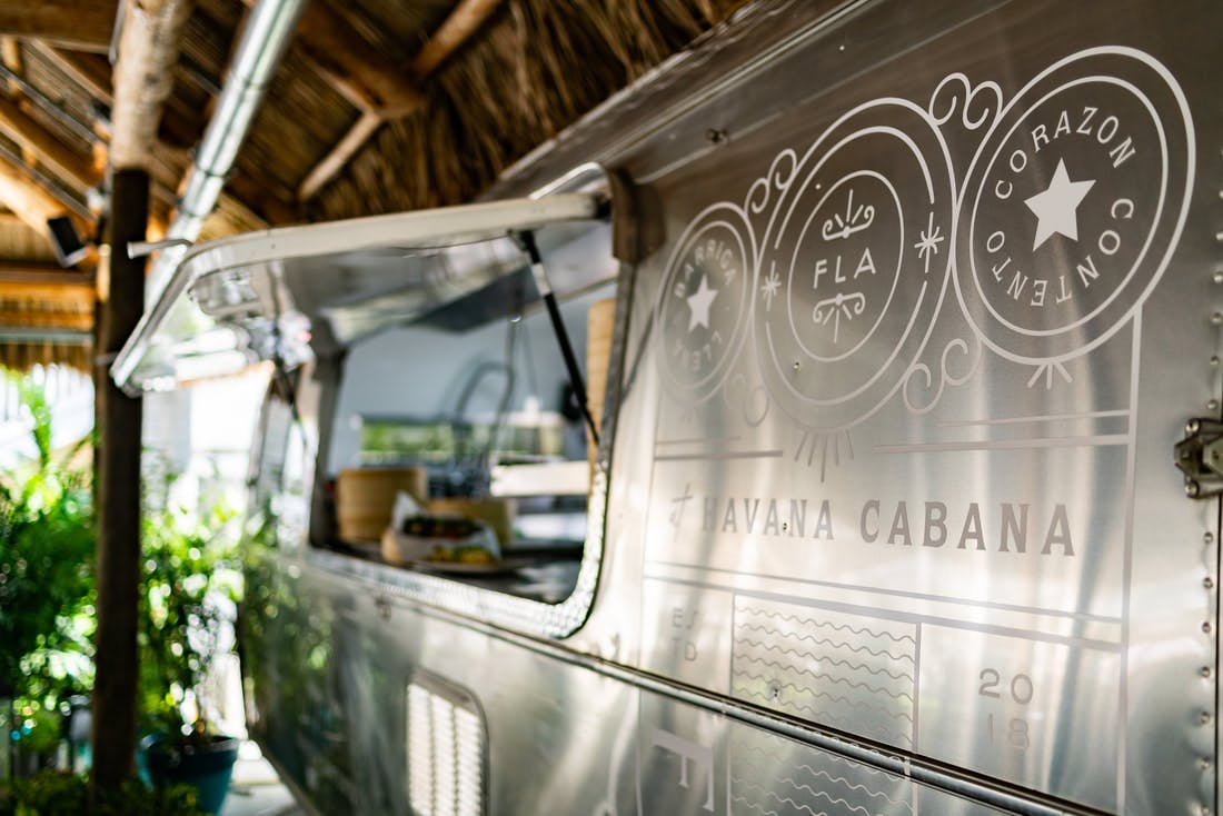 Airstream trailer at Havana Cabana Hotel in Key West