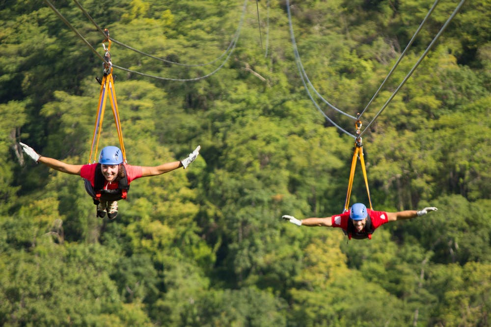 costa rica canopy tours and zip line to fly through the trees