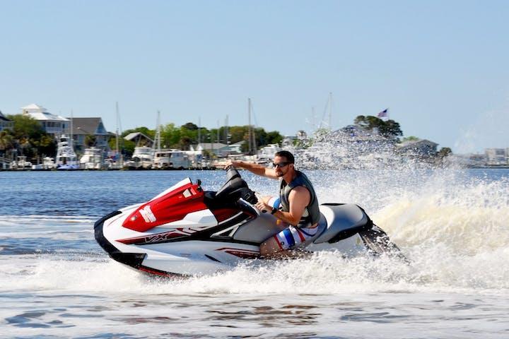 Beach Jet Ski