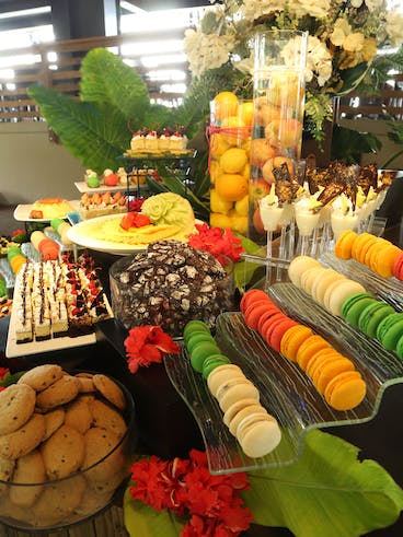 Dessert Buffet at TaoTao Tasi show in Tumon, Guam