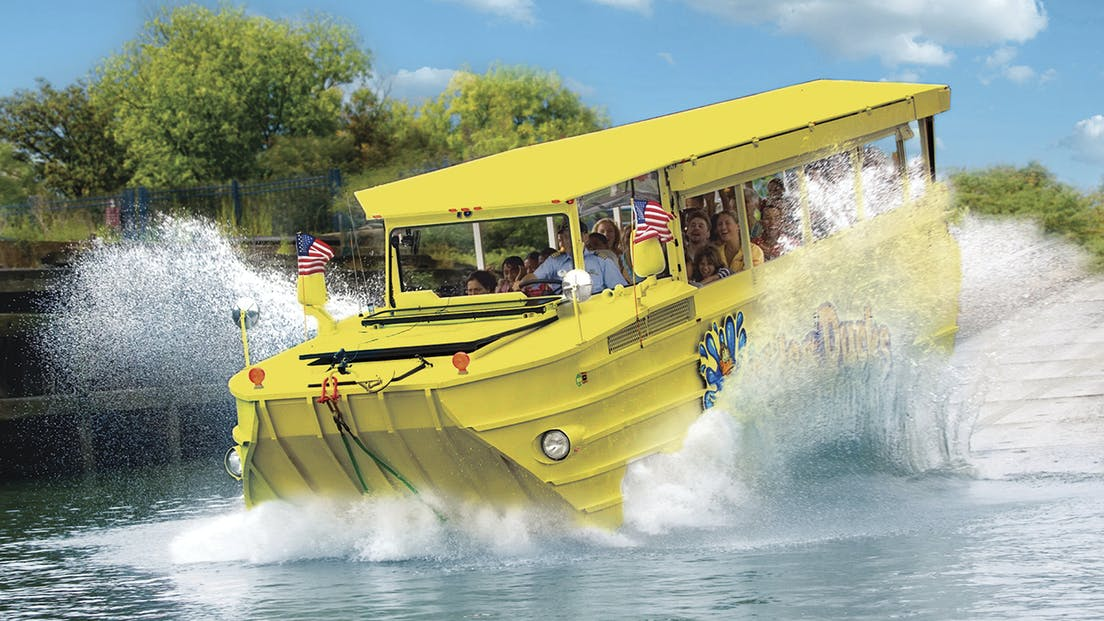Ride the Ducks tour makes a big splash