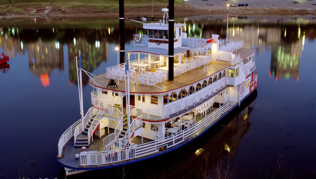 Dinner Amp Music Cruise Memphis Riverboats