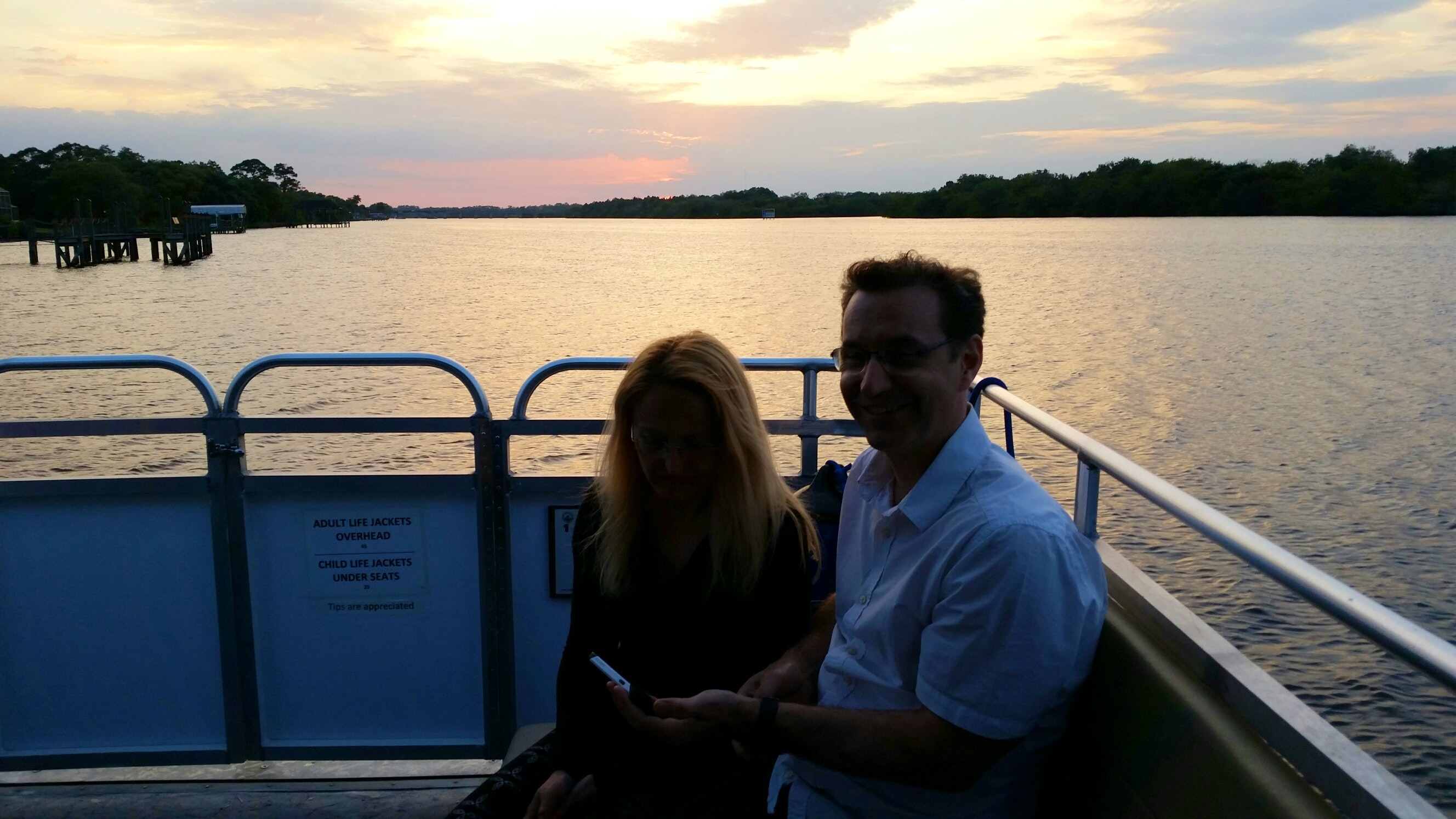 Sunset Cruise Guests