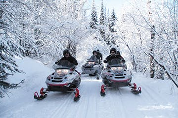 Steamboat Springs Snowmobile Tour