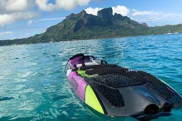 Jetboard in Bora Bora