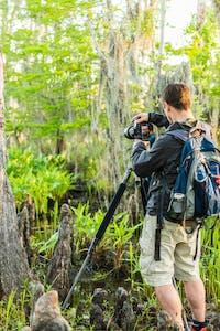 swamp, swamp landscape photography, kayak photography workshop