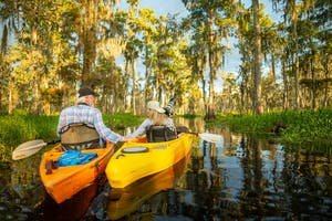 kayak, kayak tour, kayak tour new orleans, kayaking new orleans, kayak swamp tour