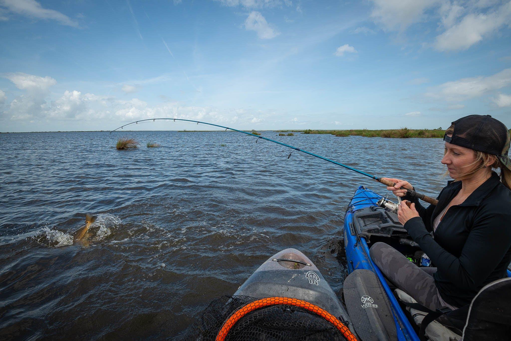 kayak, kayak tour, kayak fishing, kayak redfishing, new orleans kayak fishing, kayak swamp tours, new orleans kayak swamp tours