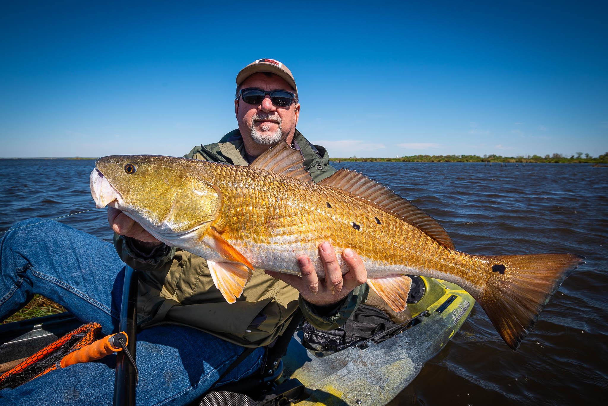 kayak, kayak tour, kayak fishing, new orleans kayak tours, redfish kayak fishing