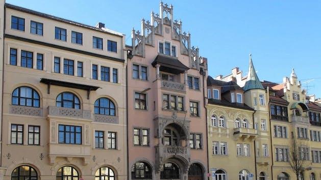 Munich building front