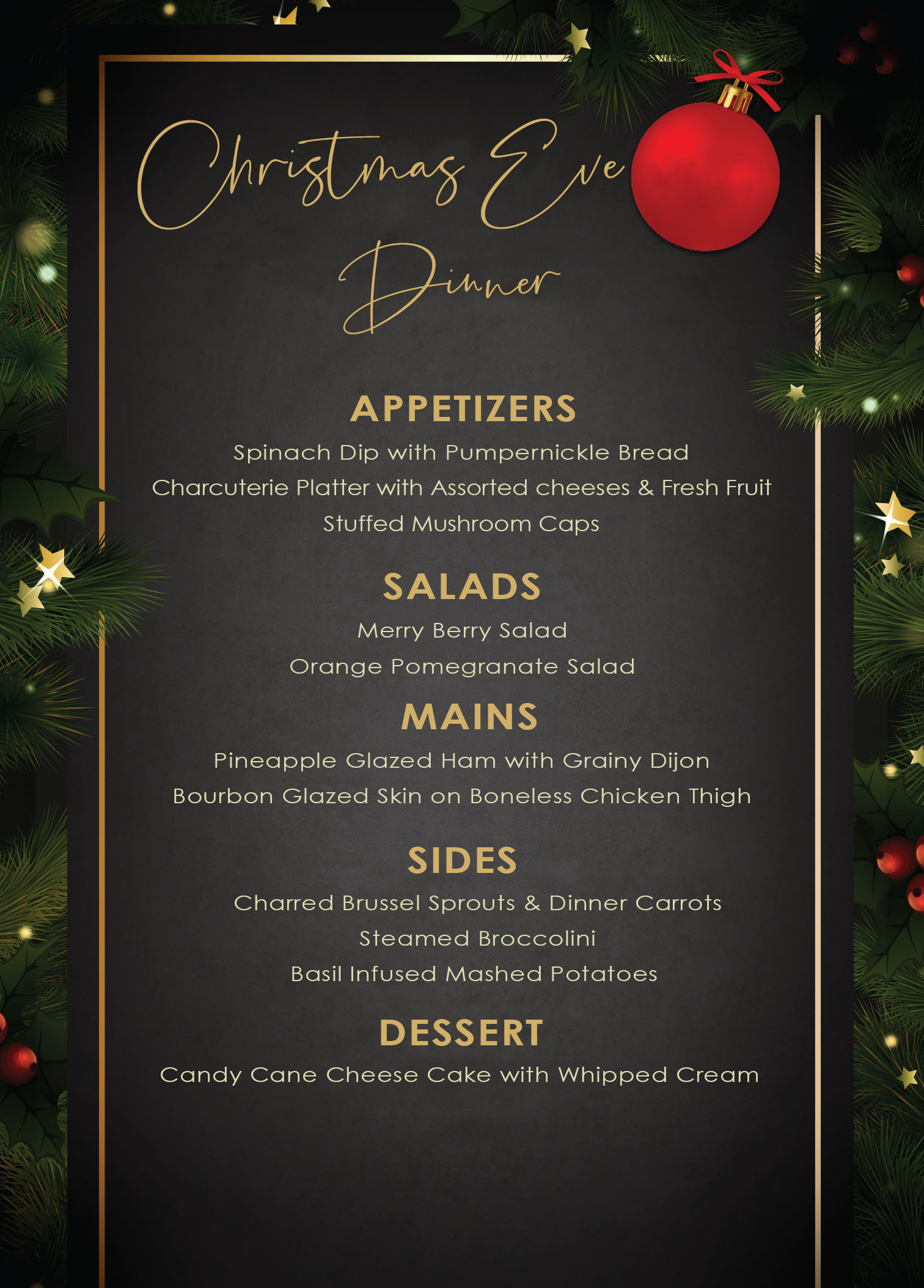 Click here to Download Christmas Eve Dinner Menu