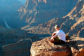 Sitting-at-the-West-Rim-of-Grand-Canyon