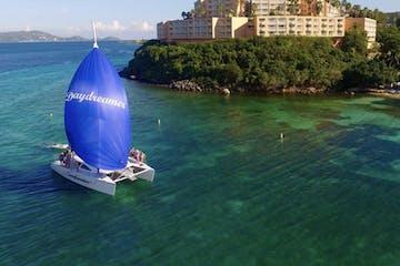 catamaran in st john bay