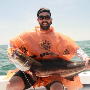 A successful catch from a Cobia Fishing Charter in Norfolk VA