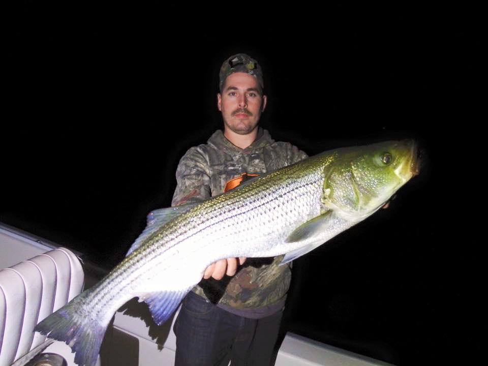 striper fishing trip