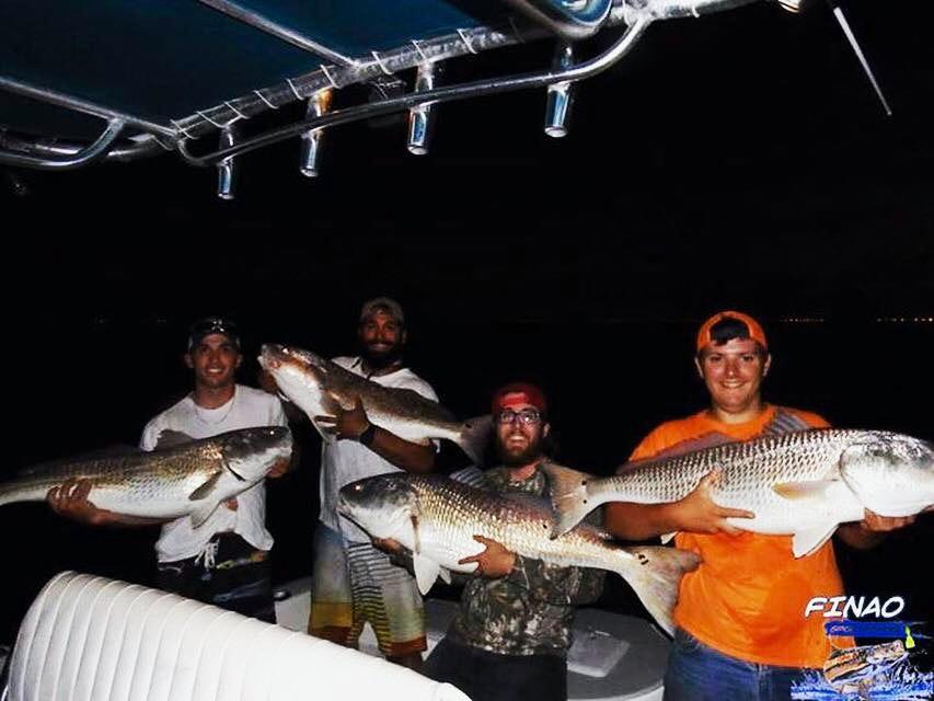 virginia red drum fishing trip