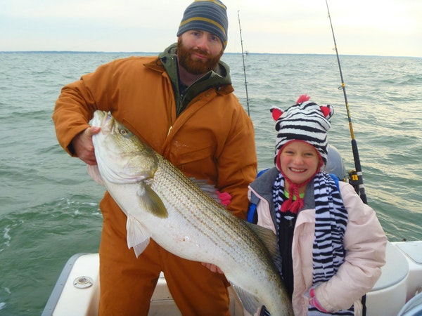virginia striper fishing charter