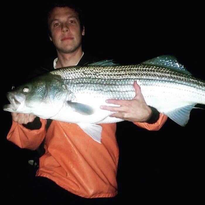 striper fishing charter