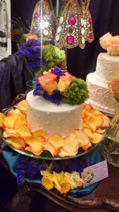 Desert at bridal show