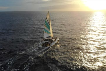 Kauai sunset sail