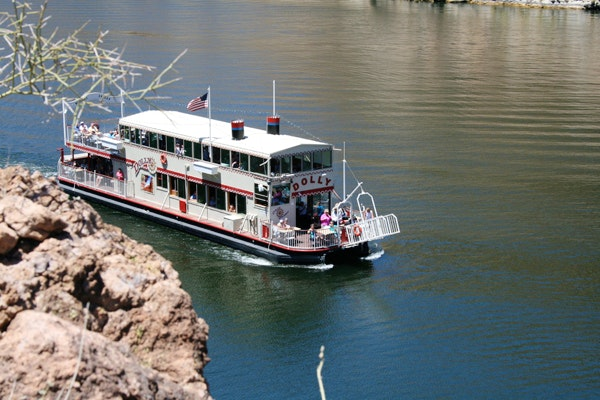 Dolly Steamboat on Canyon Lake, Arizona
