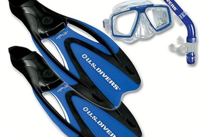 Snorkel, Mask, and Fins for Rent