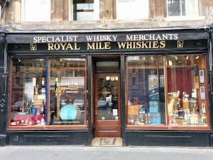 Whisky in Edinburgh
