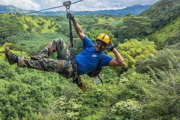Zipline Tour on Kauai