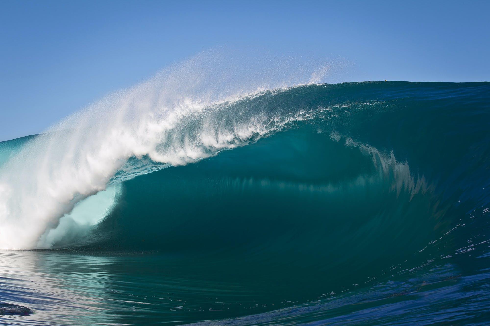 empty wave , Teahupoo