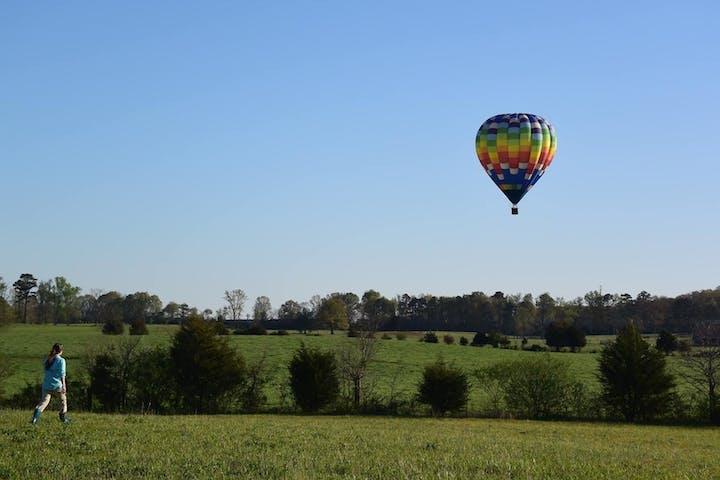 Park City hot air balloon