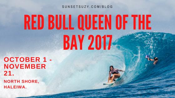 Girl surfing huge wave.