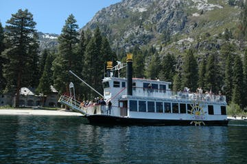 Emeral Bay Cruise, The Tahoe Gal cruises on Lake Tahoe lunch cruise