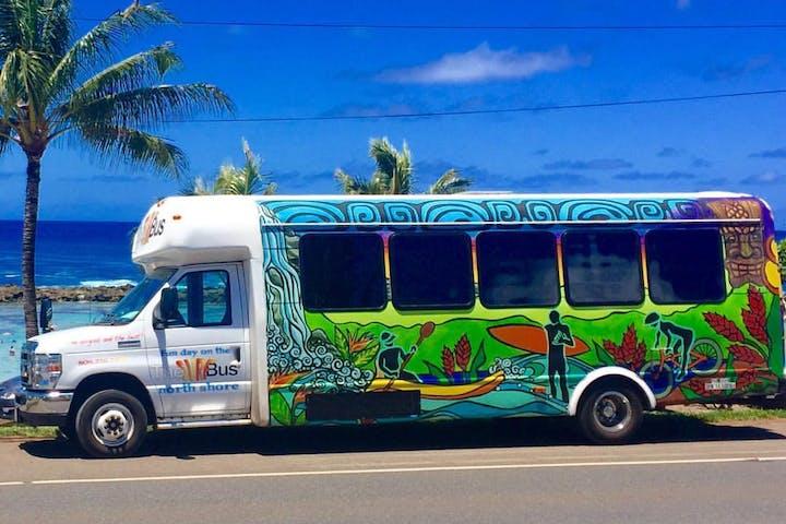 Surf Bus North Shore Oahu Tour | Roberts Hawaii