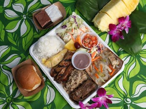 Germaine's Luau Hawaiian style buffet