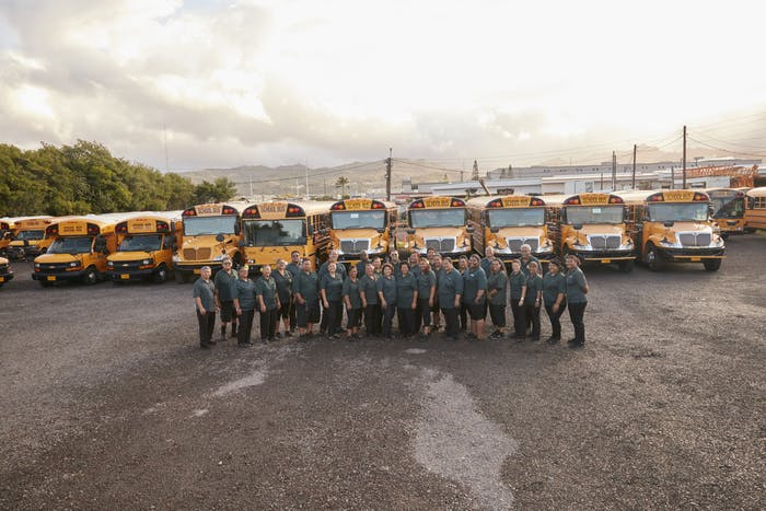 Hawaii School Bus Transportation | Roberts Hawaii