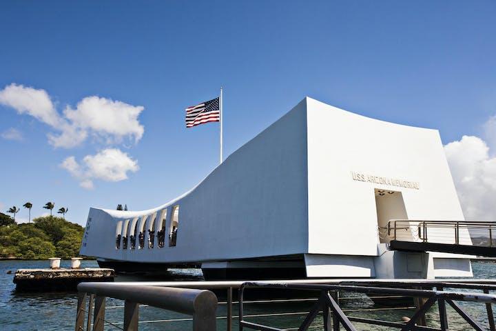 pearl harbor USS Arizona memorial