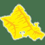 Oahu island Icon click to for Oahu tours