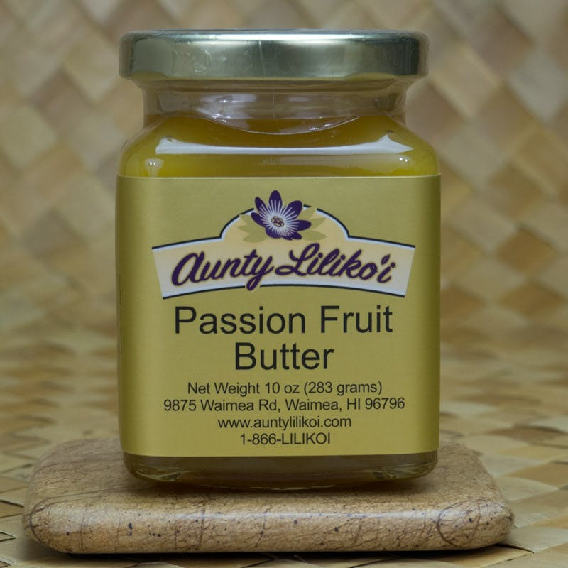 Passion Fruit Butter is sinfully delicious especially when poured over ice cream or spread on a hot buttermilk biscuit.