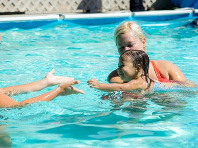 Parent and Child aquatics class