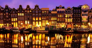a great things to do in Amsterdam is see it from the water