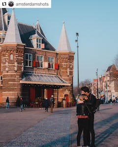 things to do in Amsterdam de Waag
