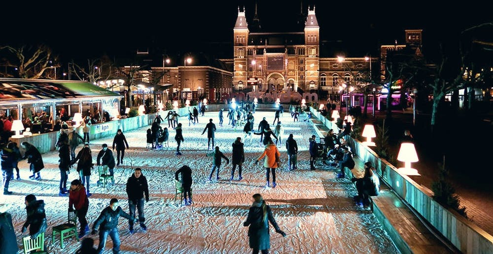 amsterdam during winter