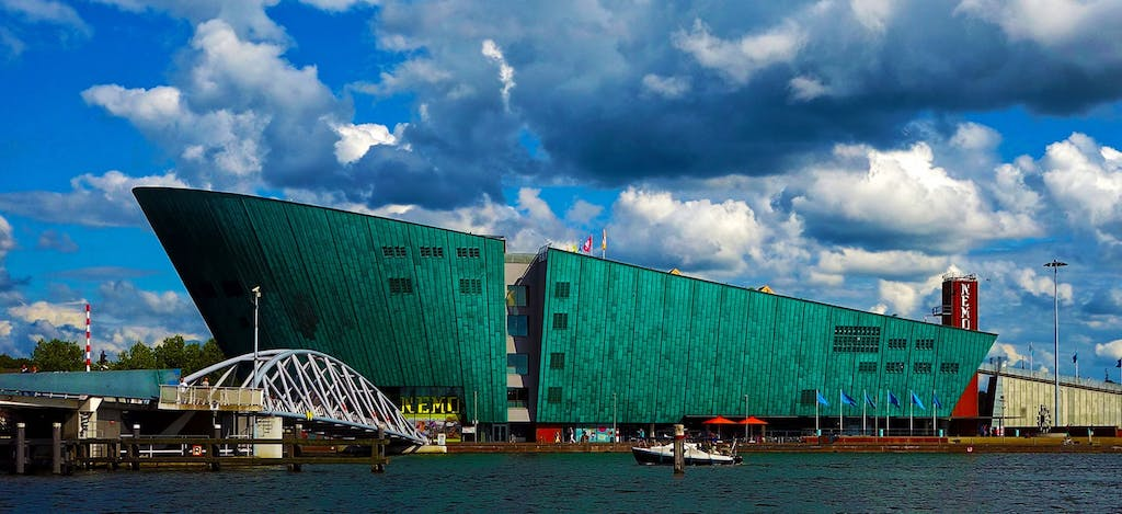 Go to Nemo and get a Free view oner the city during your Romantic trip to Amsterdam
