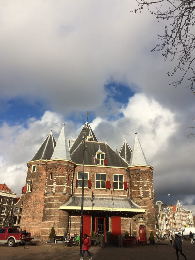 Romantinc De Waag for Valentines Day
