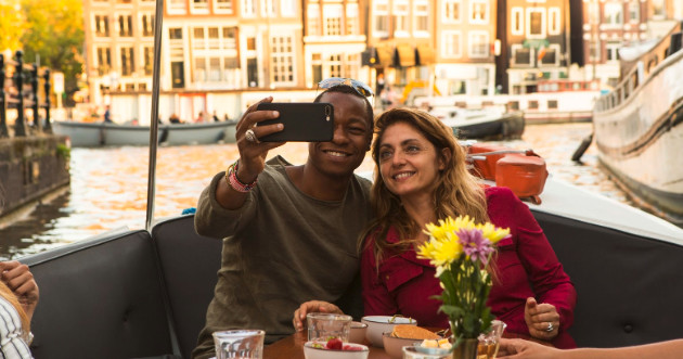 Romantic Marriage Proposal Canal Tour in Amsterdam