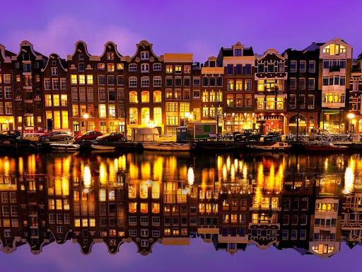Romantic Amsterdam by Night